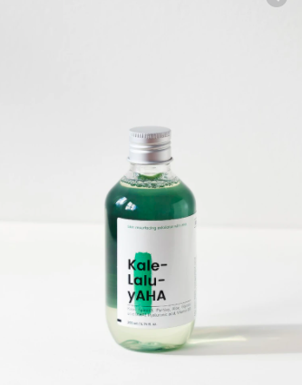Top 10 Affordable Toners To Try - Krave Beauty Kale-Lalu-yAHA 5.25% Glycolic Acid Treatment. $25 for 6.76 FL OZ.