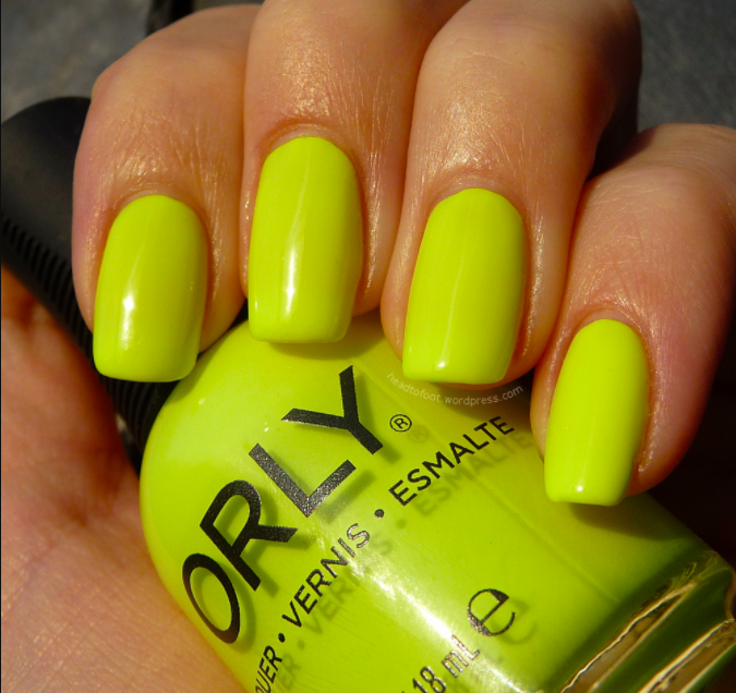 Nail Colors To Try - Neon Bright