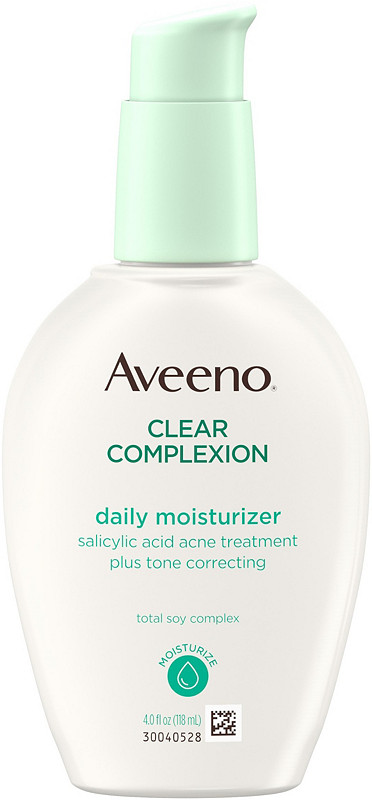 Skin Care Products for Acne : Aveeno Clear Complexion Daily Moisturizer