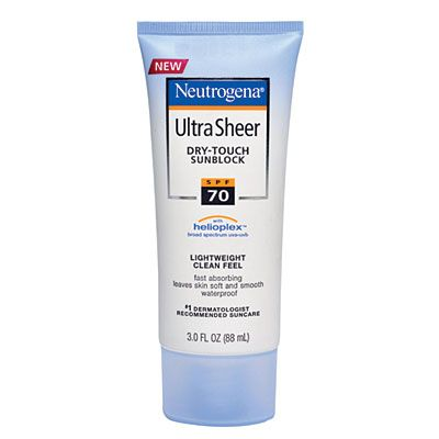 Best Sunscreens 2020 : Neutrogena Ultra Sheer Dry-Touch Sunscreen SPF 70